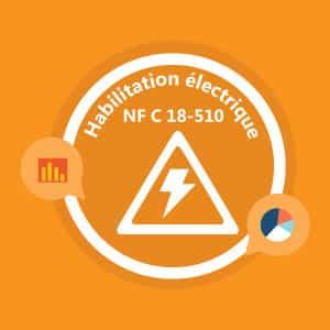 certification-elearning : habilitation électrique